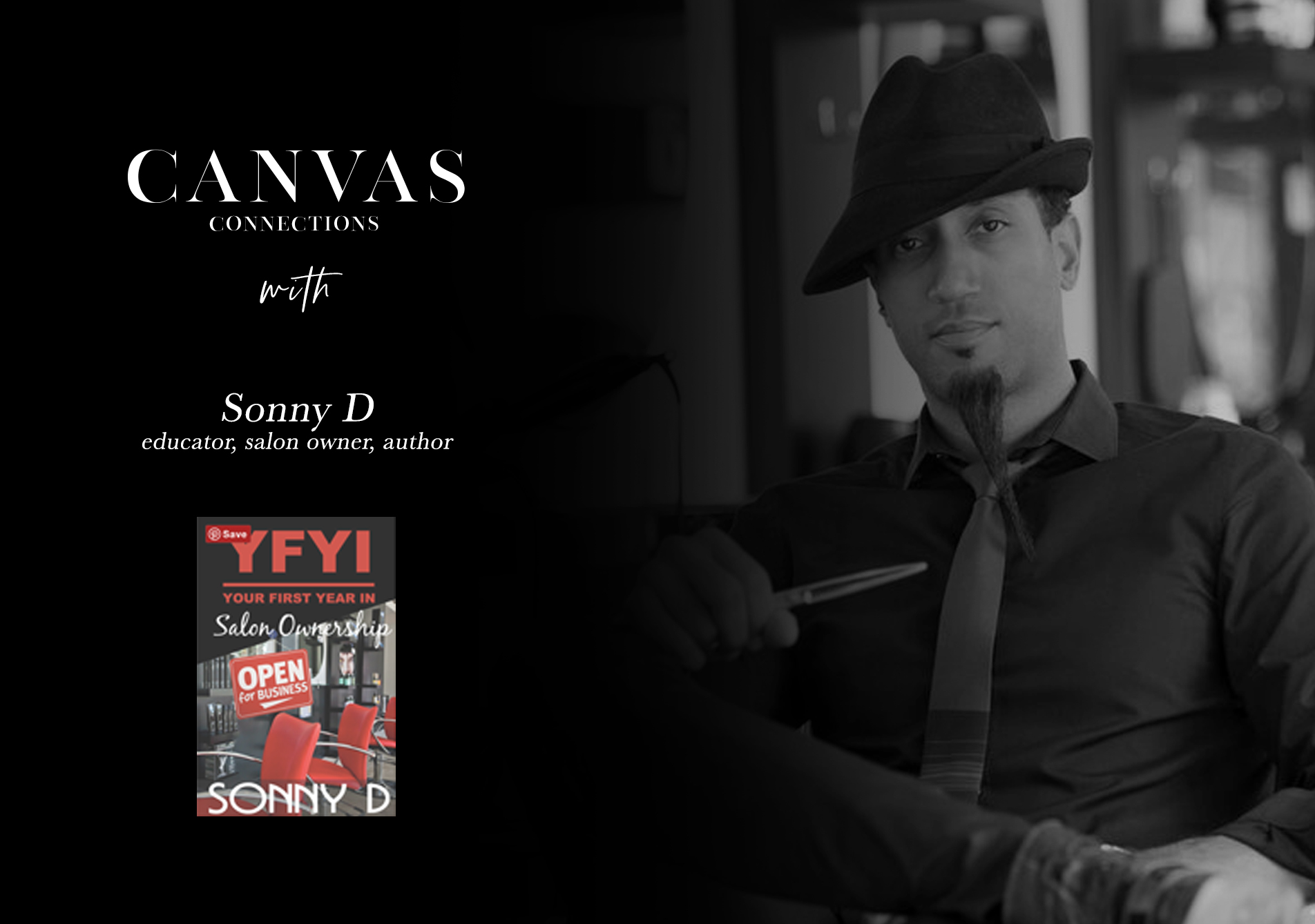 Canvas Connections with Sonny D; Overcoming a life of hardships.